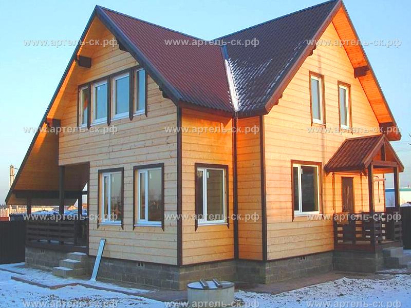 каркасные дома челябинск цены фото
